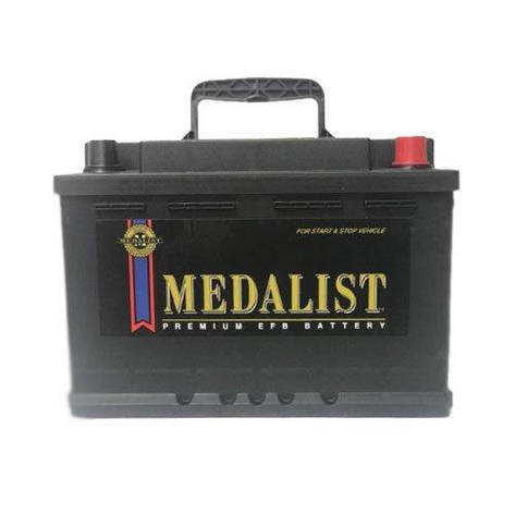Medalist 6СТ-80 АзЕ EFB80 Автомобильный аккумулятор, фото 2