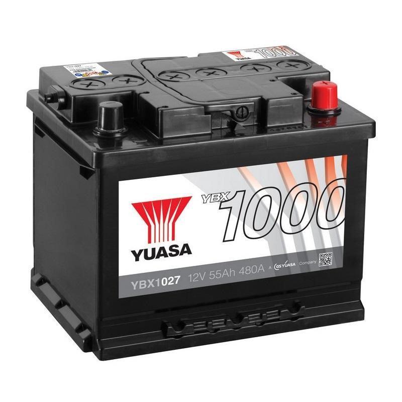 Yuasa 6СТ-55 АзЕ YBX1027 Автомобильный аккумулятор