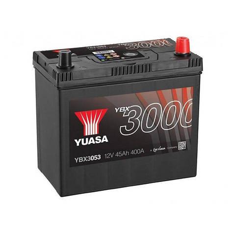 Yuasa 6СТ-45 АзЕ YBX3053 Автомобильный аккумулятор, фото 2