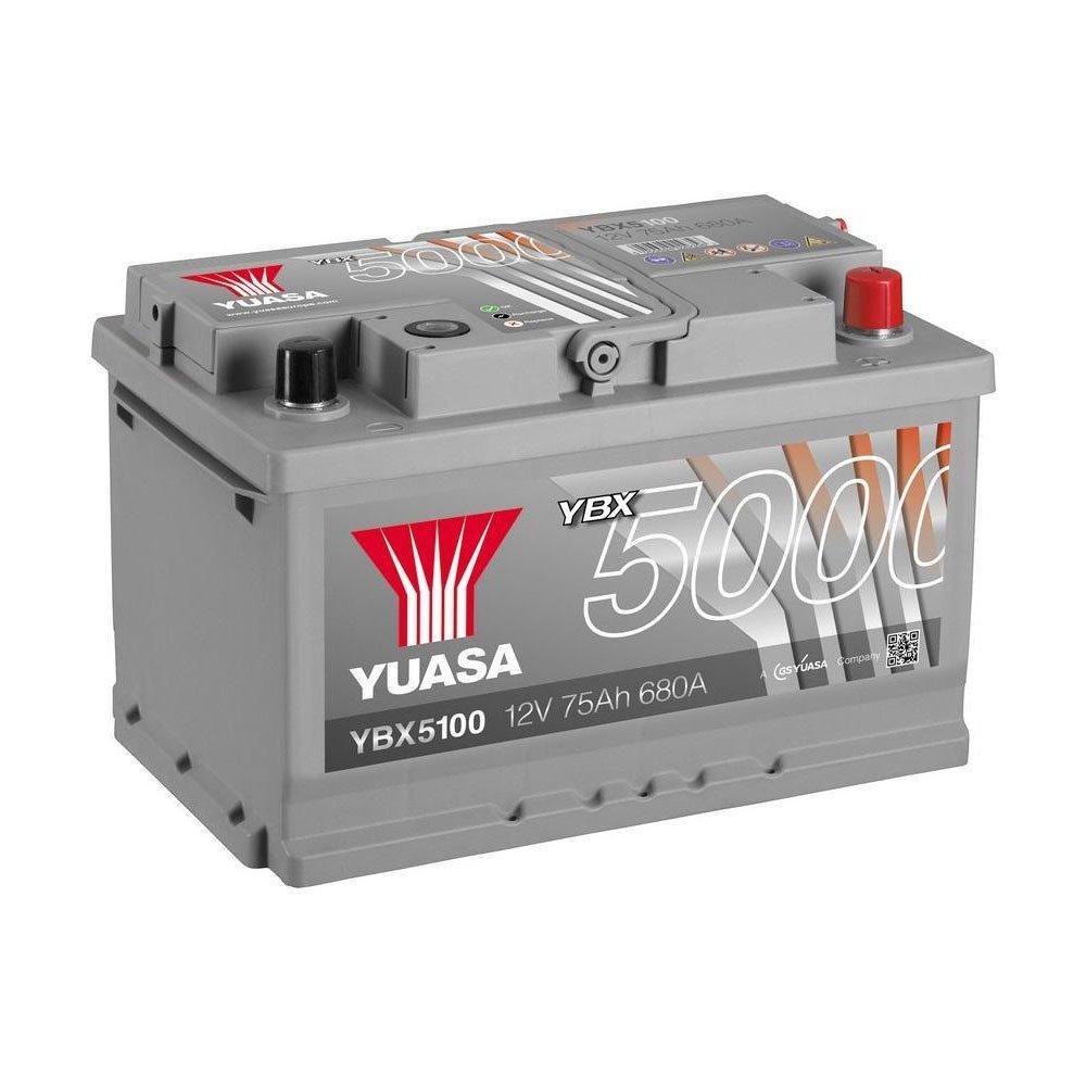 Yuasa 6СТ-75 АзЕ YBX5100 Автомобильный аккумулятор