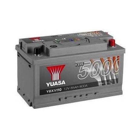 Yuasa 6СТ-85 АзЕ YBX5110 Автомобильный аккумулятор, фото 2