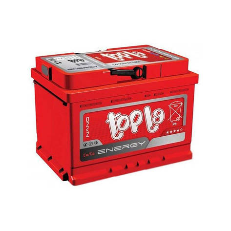 Topla 6СТ-60 Аз Energy 108 160 Автомобильный аккумулятор, фото 2