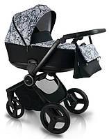 Дитяча коляска BEXA FRESH FR1 Чорна з білим 3072018025, КОД: 125840