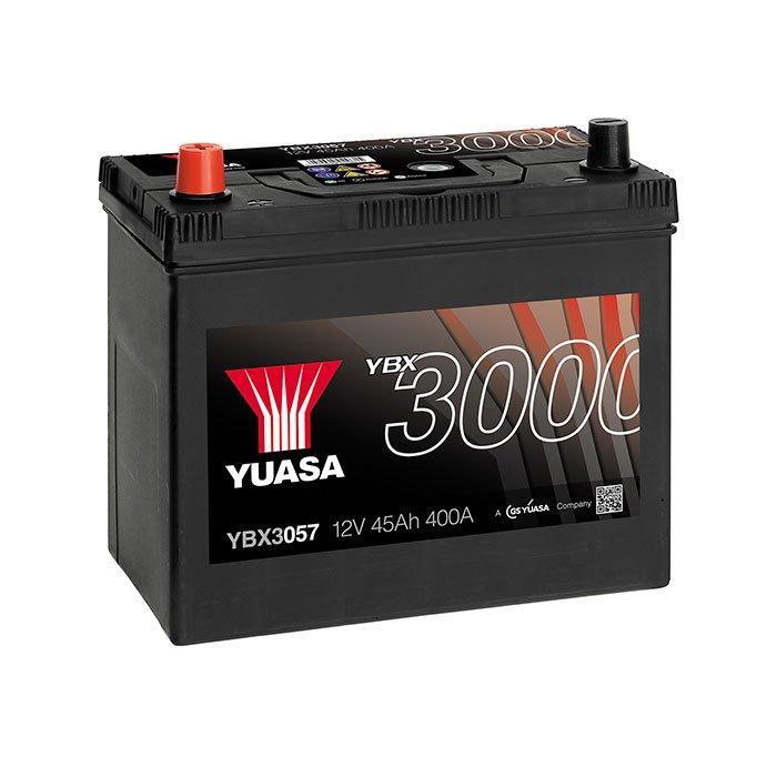 Yuasa Yuasa 12V 45Ah SMF Battery Japan YBX3057 (1) YBX3057 Автомобильный аккумулятор
