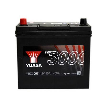 Yuasa Yuasa 12V 45Ah SMF Battery Japan YBX3057 (1) YBX3057 Автомобильный аккумулятор, фото 2