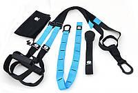 Петли для функционального тренинга TRX Onhillsport Fitness PRO, металл, нейлон, неопрен, голубой (ОХ PRO-1)