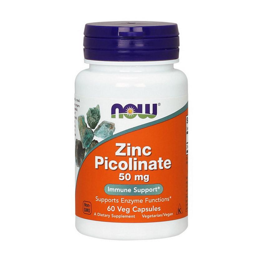 Цинк пиколинат Now Foods Zinc Picolinate (60 капс) нау фудс