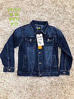 Джинсовая куртка для мальчиков, S&D, 128,164,176 см,  № DT-1137