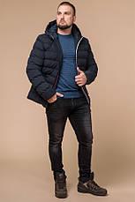"Куртка короткая мужская зимняя цвет темно-синий-красный  Braggart ""Aggressive"" размер 46 48 50 52 54 56, фото 3"