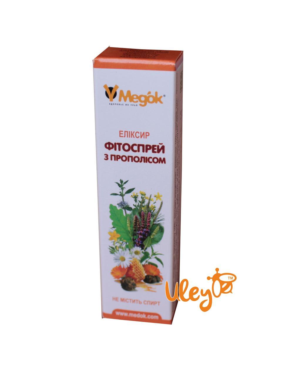 Фитоспрей с прополисом и лекарственными травами