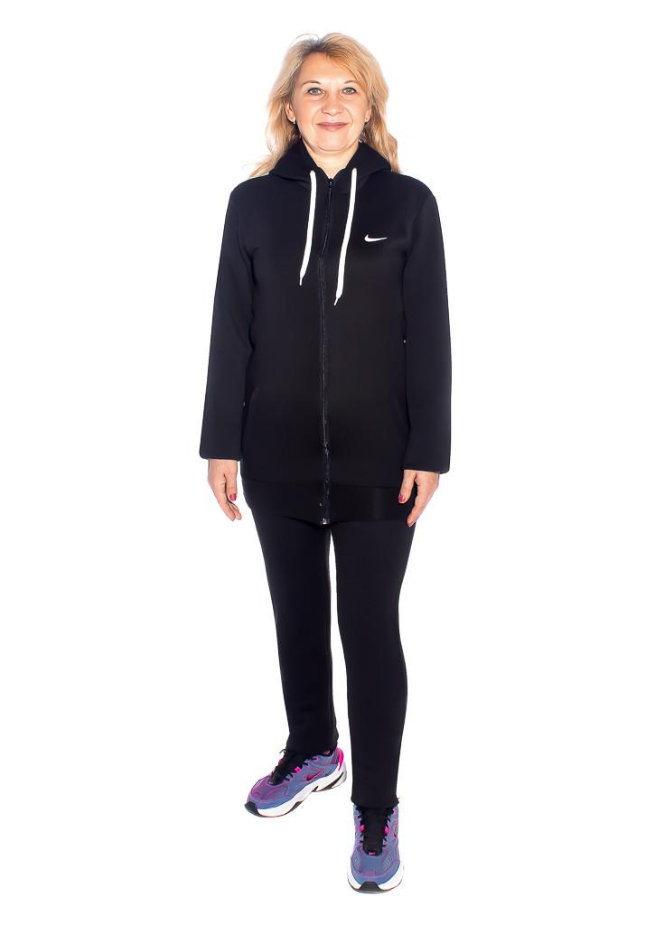 Тёплый спортивный костюм с длинной толстовкой - фото teens.ua