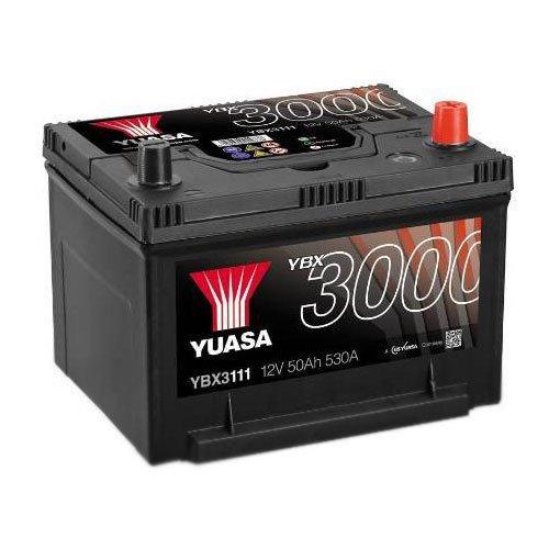 Yuasa 6СТ-50 АзЕ YBX3111 Автомобильный аккумулятор