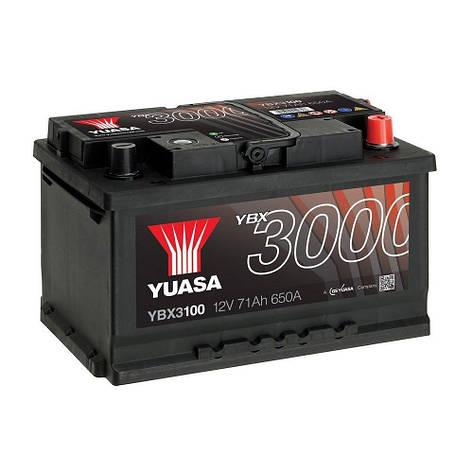 Yuasa 6СТ-71 АзЕ YBX3100 Автомобильный аккумулятор, фото 2
