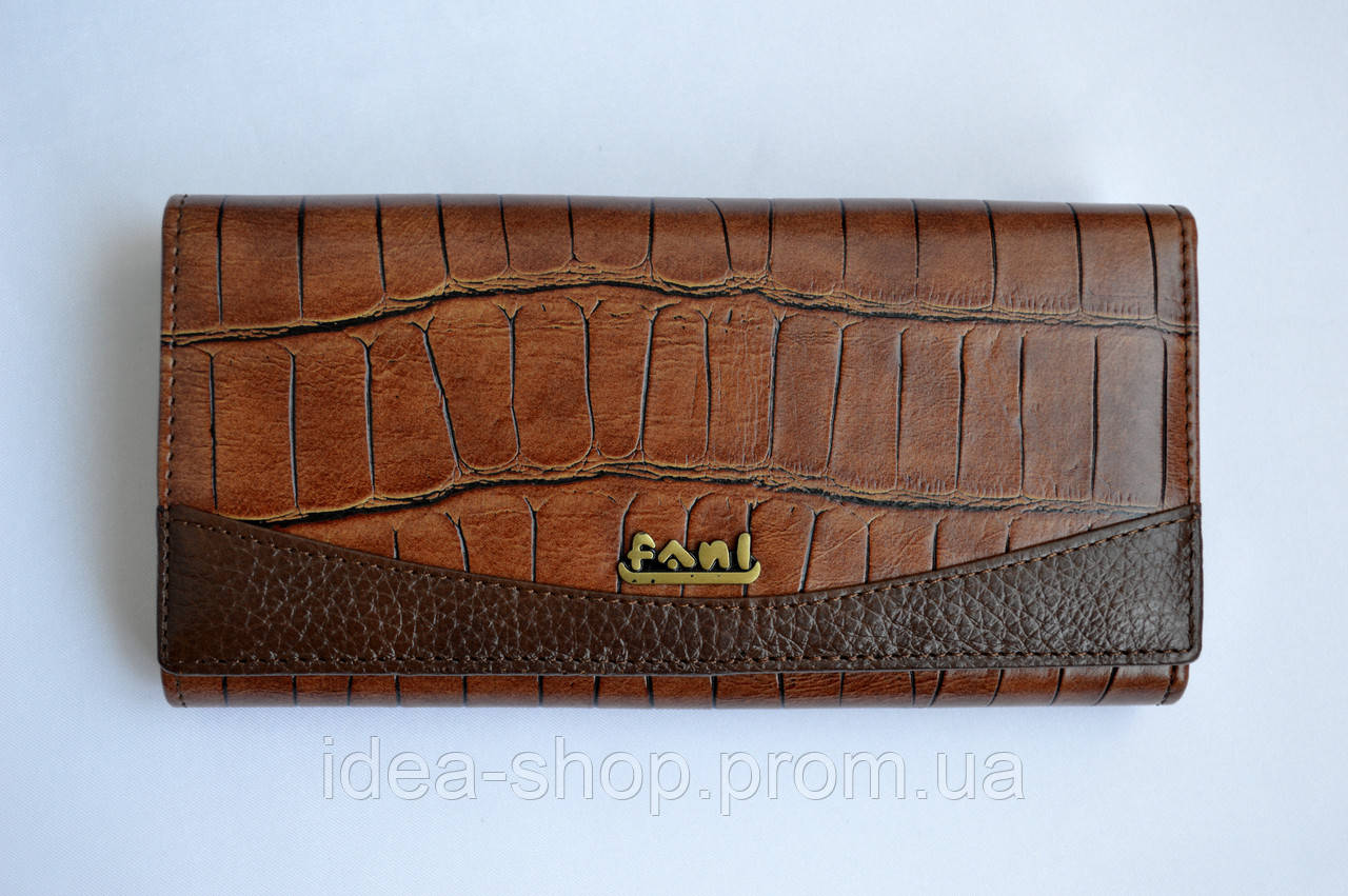da2907dd74d2 Кожаный дешевый кошелек Fani - интернет-магазин