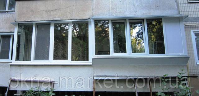 Балкон с выносом косынка