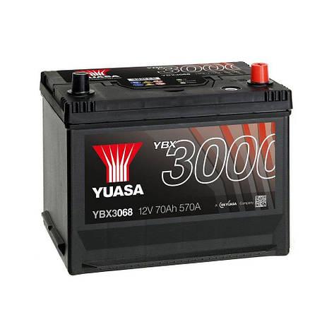 Yuasa 6СТ-72 АзЕ YBX3068 Автомобильный аккумулятор, фото 2