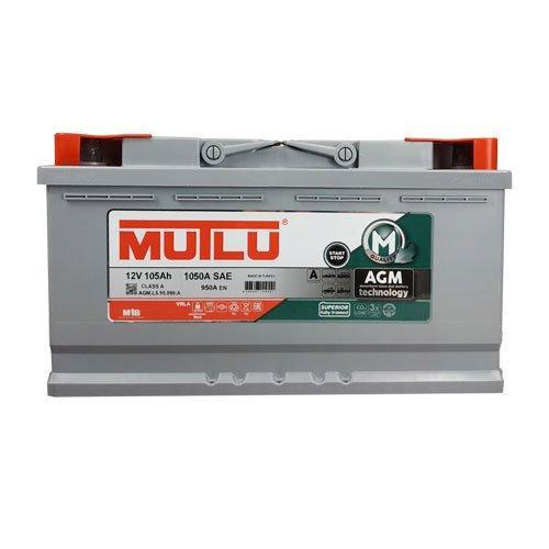 MUTLU 6СТ-105 АзЕ AGM.L6.105.095.A Автомобильный аккумулятор