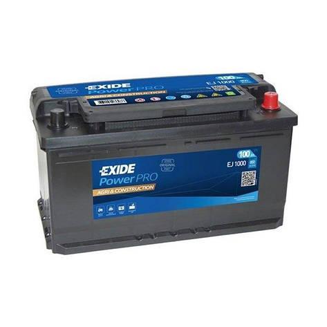 EXIDE 6СТ-100 АзЕ Power PRO Agri EJ1000 Автомобильный аккумулятор, фото 2