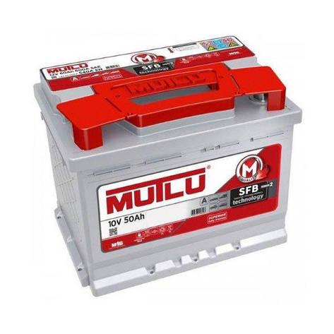 MUTLU 6СТ-50 Аз 10 V L1.50.042.B Автомобильный аккумулятор, фото 2
