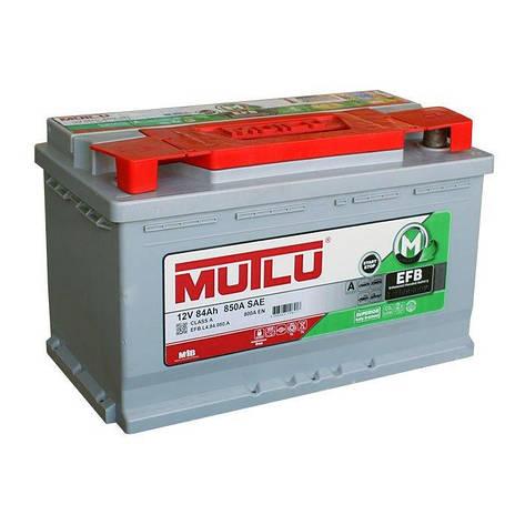 MUTLU 6СТ-84 АзЕ EFB.L4.84.080.A Автомобильный аккумулятор, фото 2