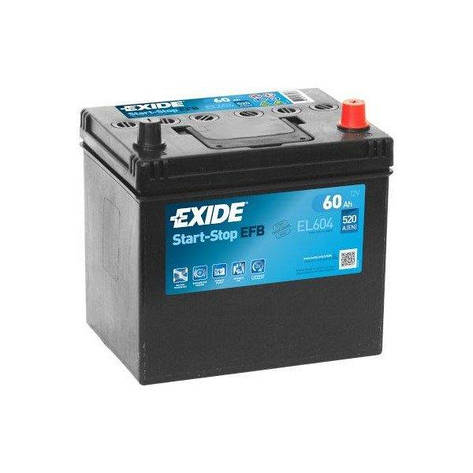 EXIDE 6СТ-60 АзЕ Start Stop EL604 Автомобильный аккумулятор, фото 2
