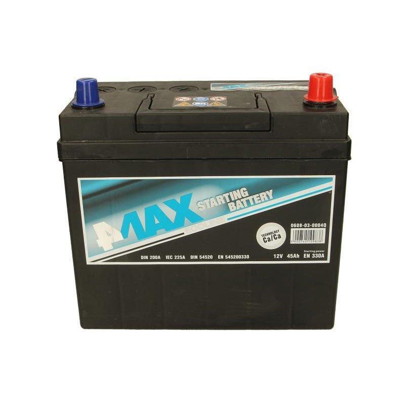 4Max 6СТ-45 АзЕ 0608-03-0004Q Автомобильный аккумулятор