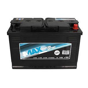 4Max 6СТ-110 АзЕ 0608-03-1005Q Автомобильный аккумулятор, фото 2