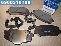 ⭐⭐⭐⭐⭐ Колодки тормозные дисковые передние Hyundai Azera 11-/Kia Optima 10- (производство  Mobis)  581012TA20