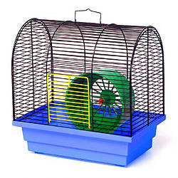 Клетка для мелких грызунов Бунгало мини, 28*18*28 см