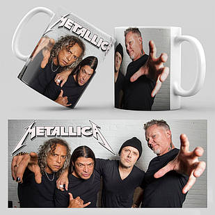 Чашка Metallica 002