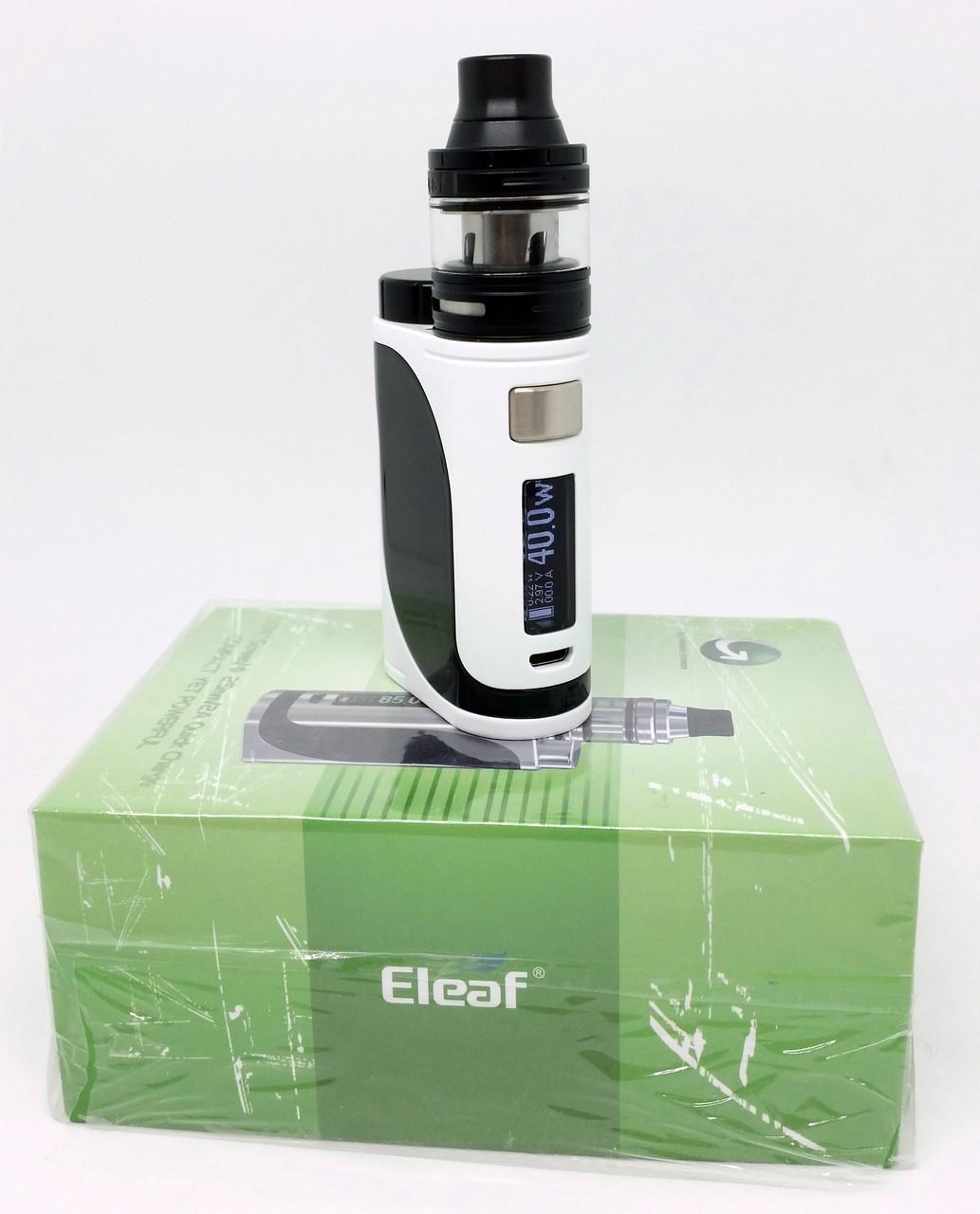 Eleaf iStick Pico 25 with ELLO 85W with 2 мл Kit White Black