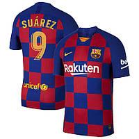Детская футбольная форма Барселона SUAREZ 9 сезон 2019-2020 основная гранатовая, фото 1