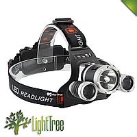 Налобный аккумуляторный фонарь Police RJ-3000
