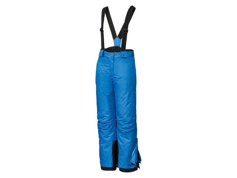 Зимние лыжные синие меланж штаны CRIVIT р. 146/152см