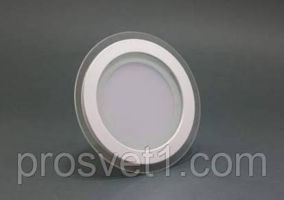 Светильник встраиваемый Led panels 455/1 6W 4000К белый круг