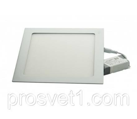 Светильник встраиваемый Led panels 447/1 6W 4000К белый квадрат