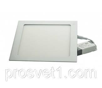 Светильник встраиваемый Led panels 449/1 18W 4000К белый квадрат