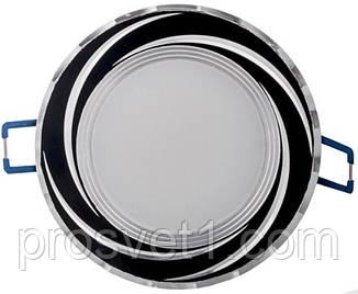 Светильник встраиваемый Feron AL777 5W 4000K черный круг