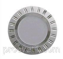 Светильник встраиваемый Z-Light ZL261053 5W 4000K серебро круг