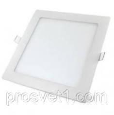 Светильник встраиваемый Led panels 459/1 12W 4000К белый квадрат