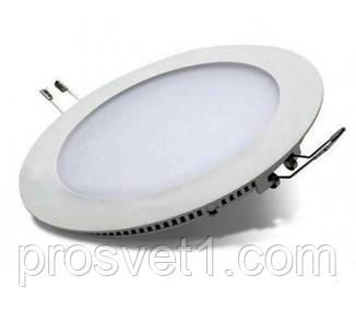 Светильник встраиваемый Luxel DLR-12N 12W 4000K белый круг