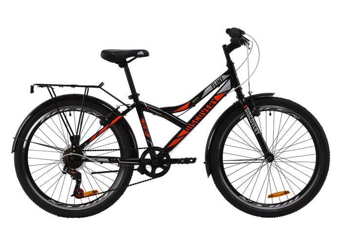 """24"""" Discovery FLINT MC 2020 (черно-оранжевый с серым), фото 2"""