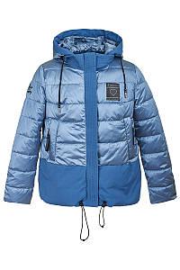 Демисезонная женская куртка синего цвета, 290731