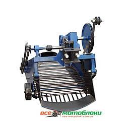 Картоплекопач вібраційний транспортерний під мототрактор з гідравлікою (Скаут)