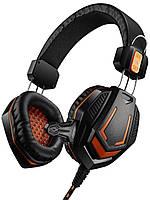 Навушники Canyon CND-SGHS3 Black/Orange, фото 1