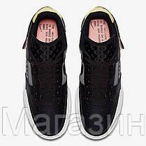 "Мужские кроссовки Nike Air Force 1 Low Type N. 354 ""Black"" CI0054-001 (Найк Аир Форс) черные, фото 2"