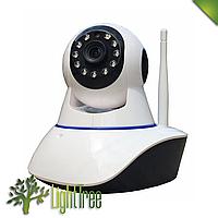 Беспроводная поворотная IP камера с сигнализацией WiFi  IPC-05