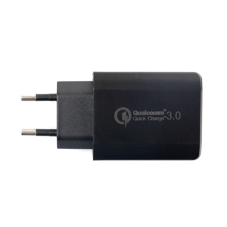 Мережевий зарядний пристрій Qualcomm Quick Charge 3.0 Black