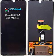 Модуль  ( дисплей + сенсор ) Xiaomi mi Mix 3 Orig  чорний