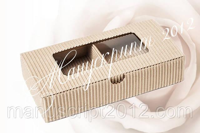 Коробка универсальная с окном 185х95х35 мм.